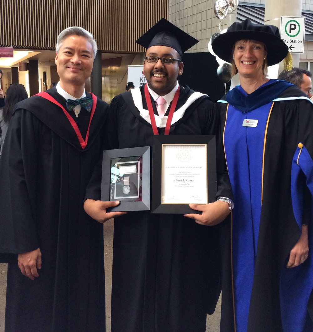 Convocation 2015: Valedictorian Rick Kumar