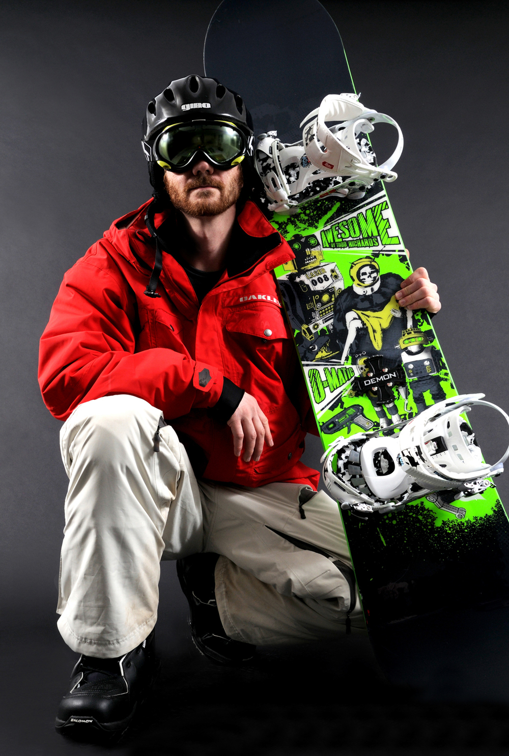 snowboard product photo