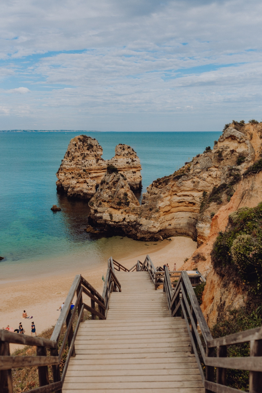 kaboompics_Camilo beach (Praia do Camilo) in Lagos, Algarve, Portugal.jpg