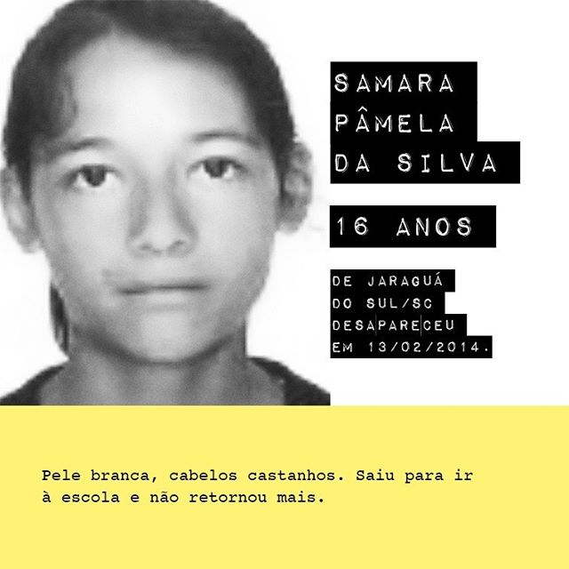 Samara Pâmela da Silva - 16 anos / @samarapamela77