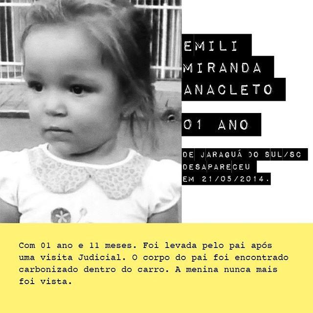 Emili Miranda Anacleto - 1 ano / @miranda.emili