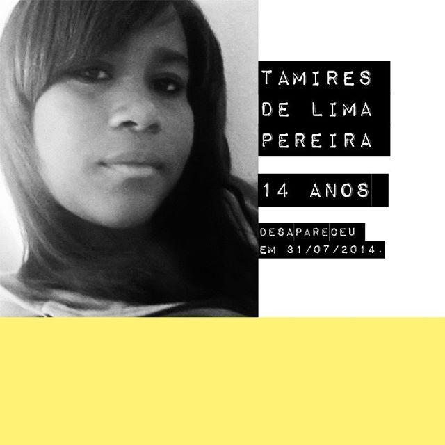 Tamires de Lima Pereira - 14 anos / @tamires.delima