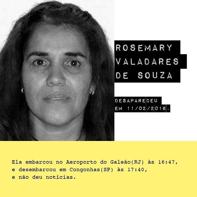 Rosemary Valadares de Souza - @rosemaryvaladares