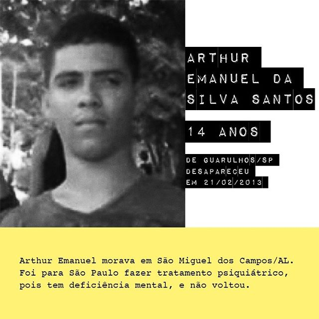 Arthur Emanuel da Silva Santos - 14 anos / @arth.emanuel77