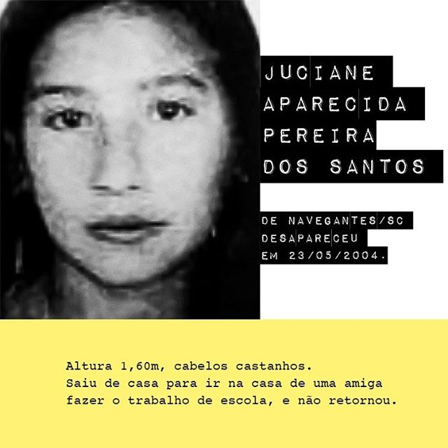 Juciane Aparecida Pereira dos Santos / @jucianeaparecida