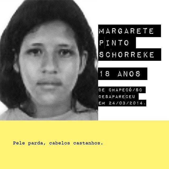 Margarete Pinto Schorreke - 18 anos / @margare.te