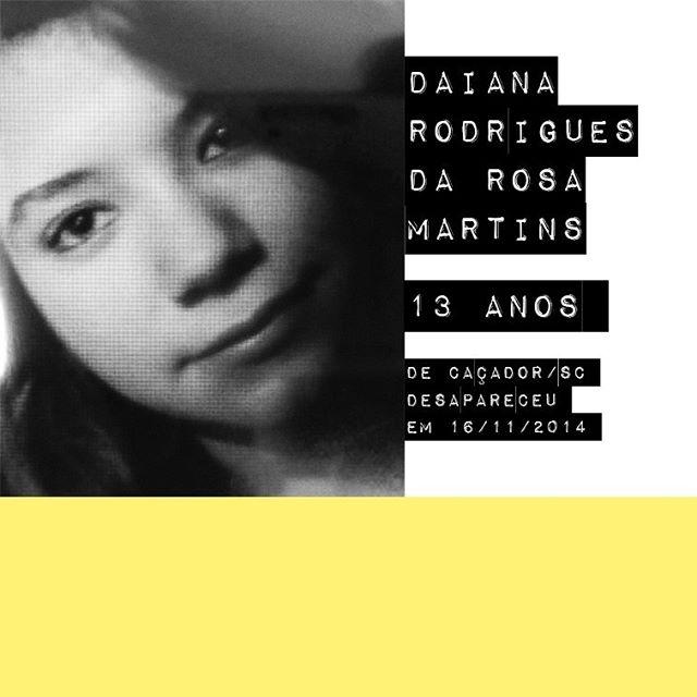 Daiana Rodrigues da Rosa Martins - 13 anos / @daian.rosa