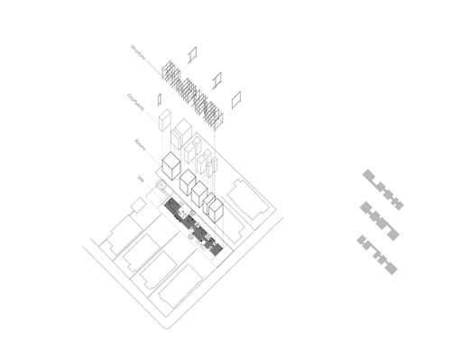 Atomized Courtyard House Perry Wexelberg