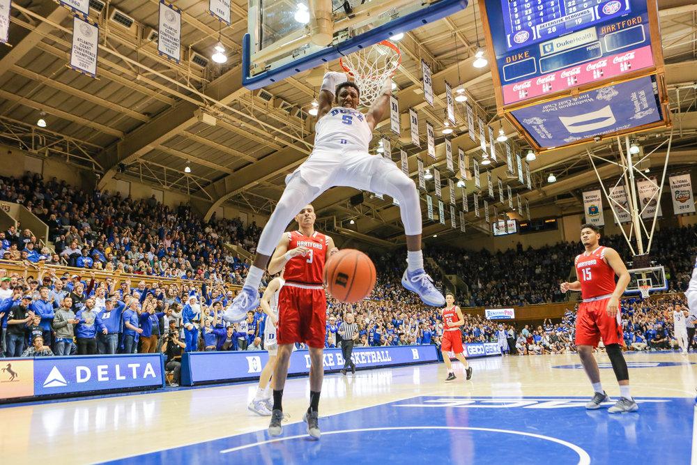 RJ Barrett Dunk :: Duke Men's Basketball NCAA :: Keenan Hairston.jpg