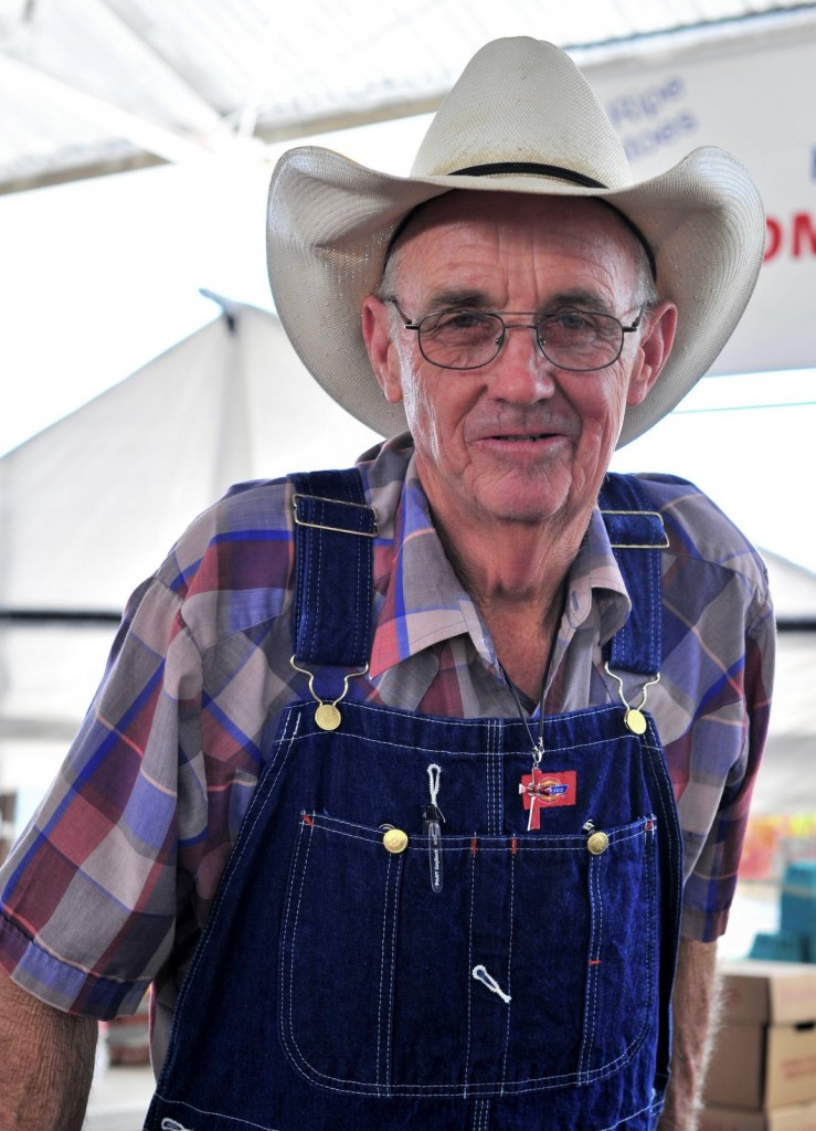 J.T. Lemley...one of our amazing farmer friends.  He has the best tomatoes in Texas!