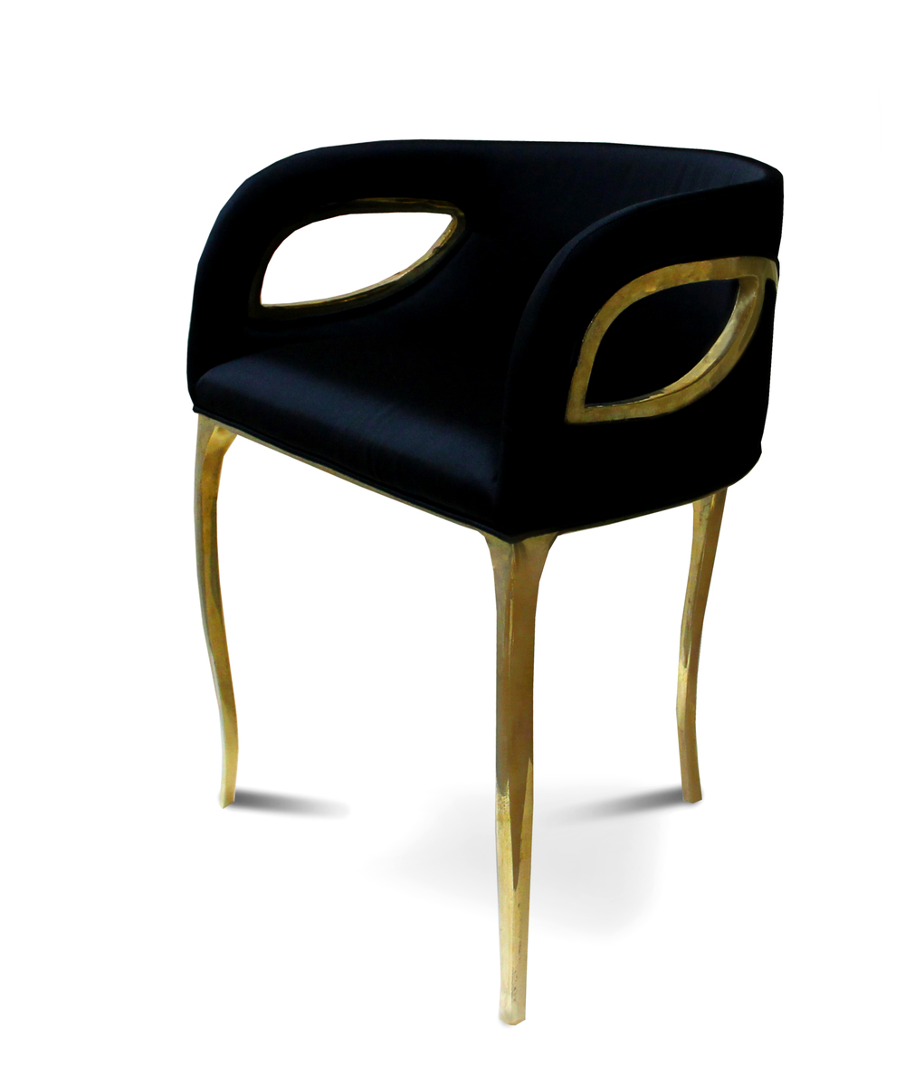 Thanks, Brabbu Design Forces and Koket, for letting me use this photo. Brabbu Design Forces, Chandra Armchair, by Koket.