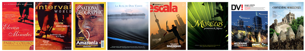 Selection of some covers and publications of Ernesto Lanz  years: (1990-2014)