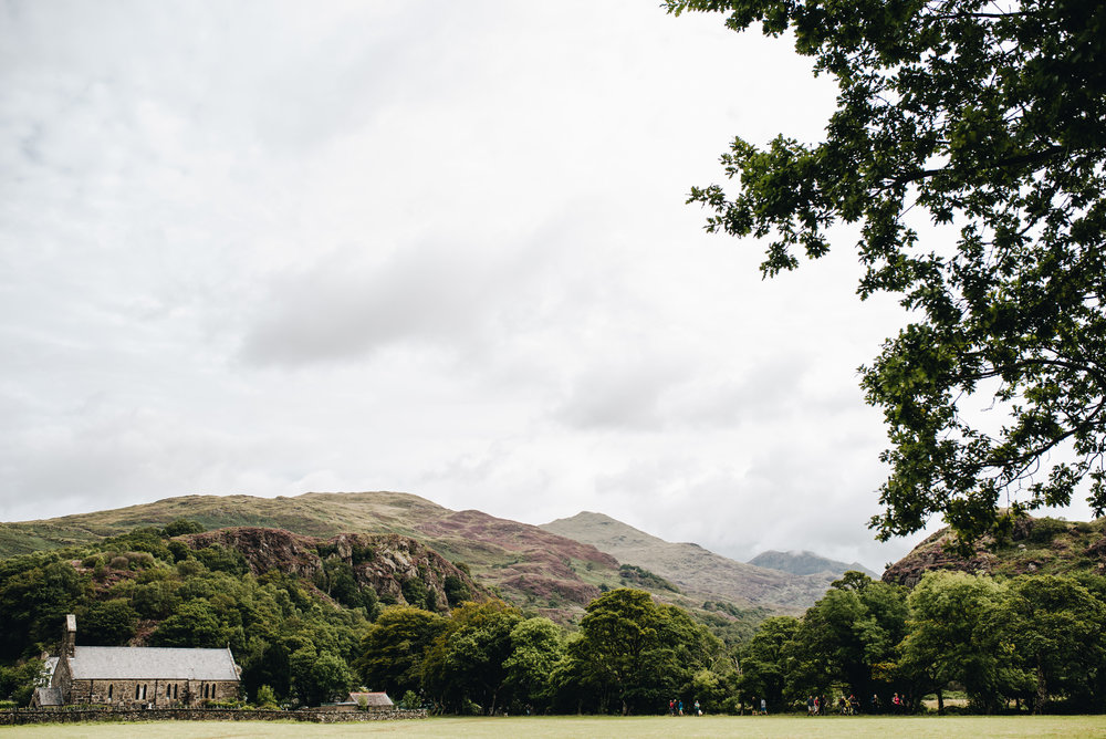 A holiday in North Wales - Beddgelert