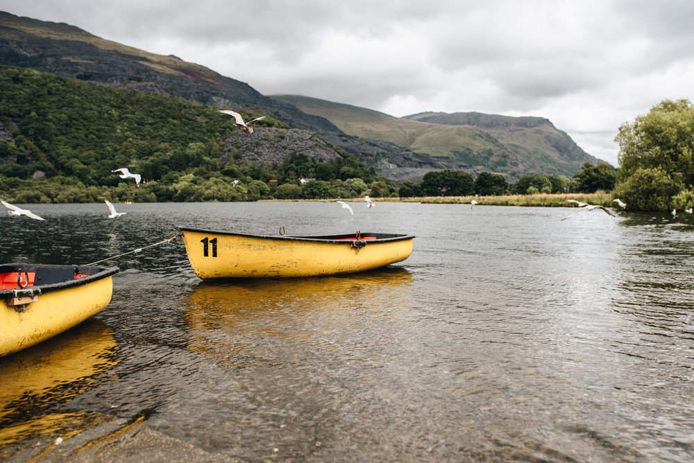 A holiday in Wales - Llanberis