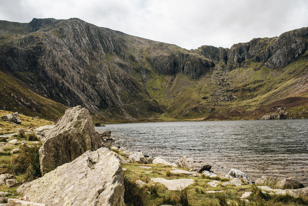 A holiday in North Wales - Llyn Idwal