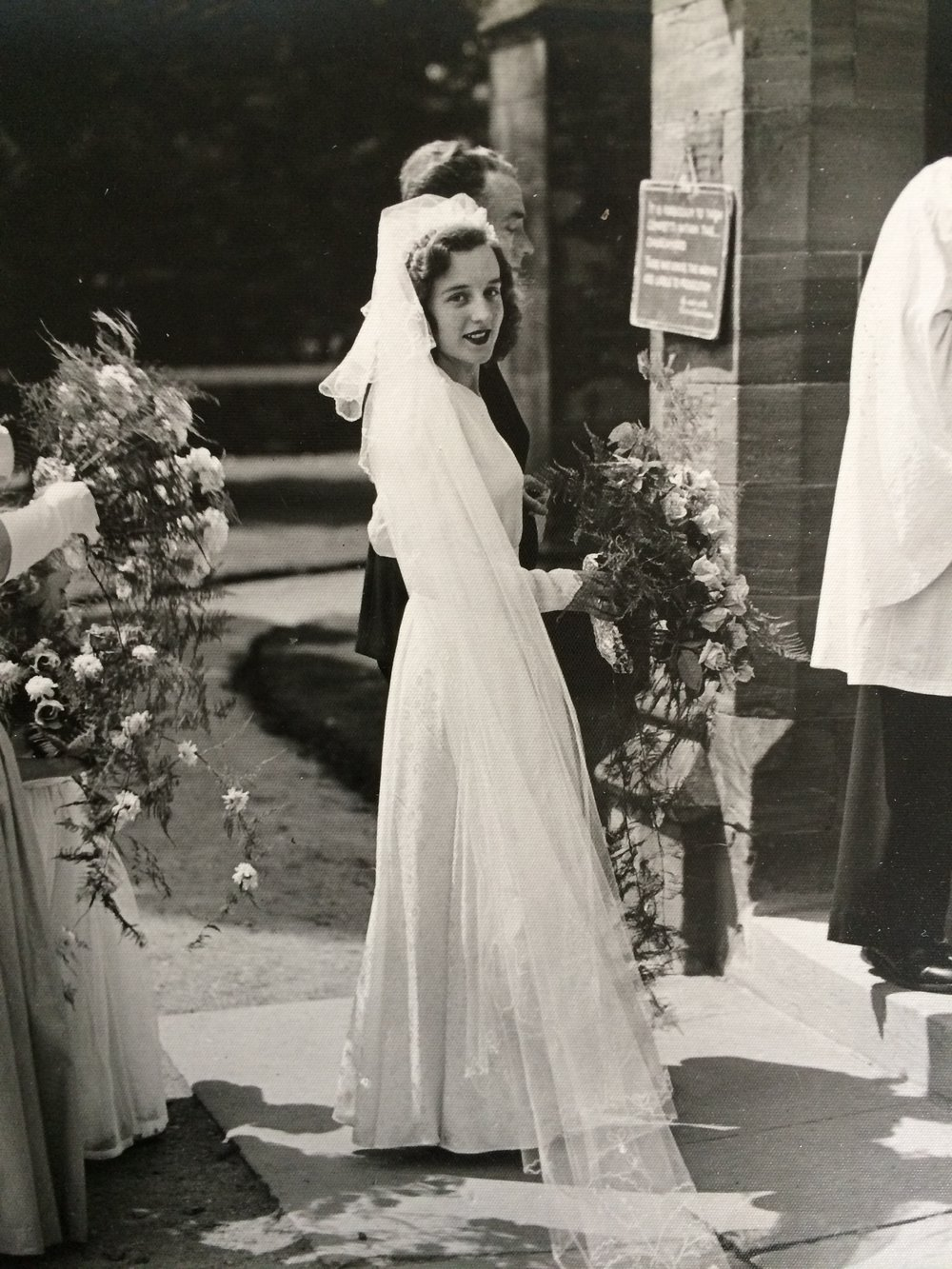 Her Grandmother's Wedding Dress | Wedding Blog