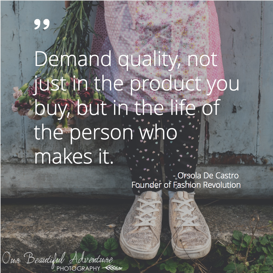 Quote | Ethical Fashion | Toms Shoes | happy Feet are Giving Feet Blog