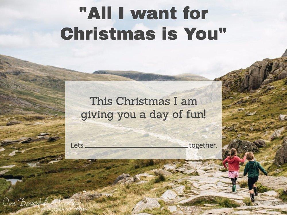 Minimalist Gift Voucher - Day of Fun