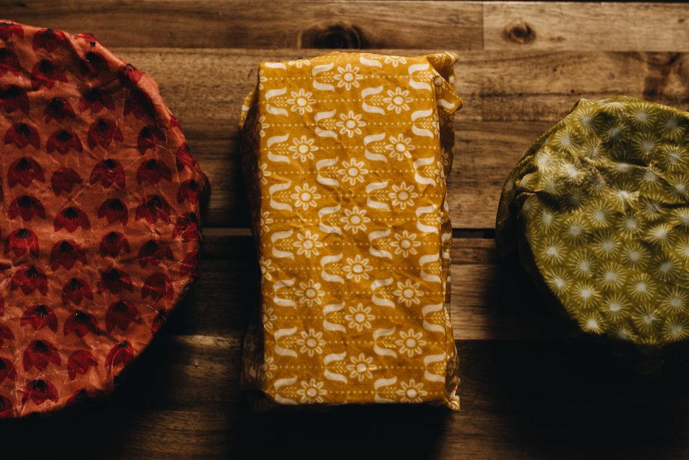Beeswax Food Wraps.