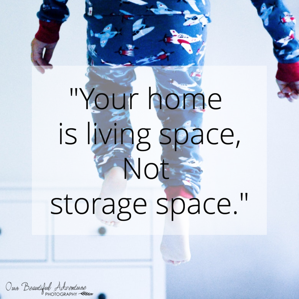 Your home is living space | 10 Minimalist quotes | Blog | Our Beautiful Adventure