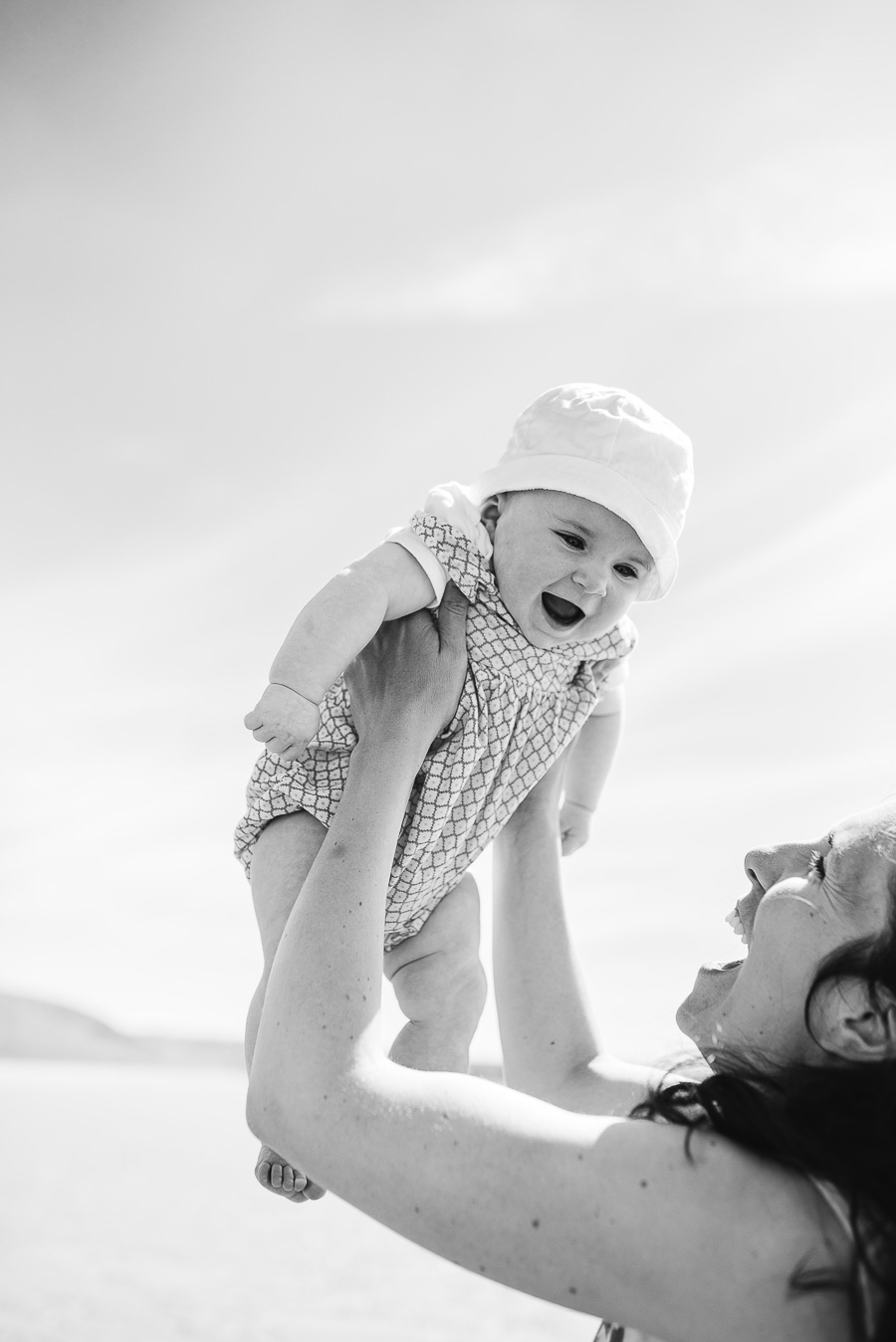 Family Photo Shoot on the Beach - Llangennith, Swansea, Gower - Our Beautiful Adventure Photography