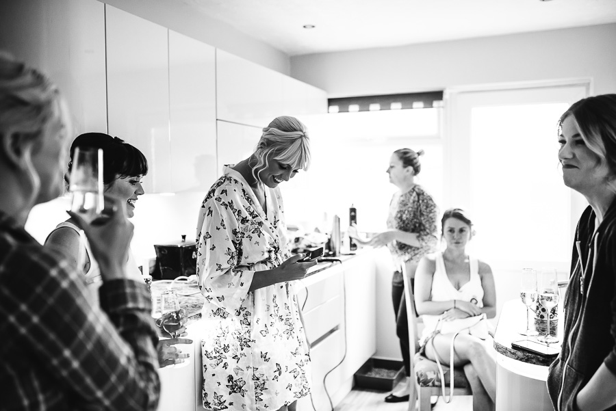Bridal Preparations - Oxwich Bay Hotel Wedding - Swansea and South Wales Wedding Photographer - Our Beautiful Adventure