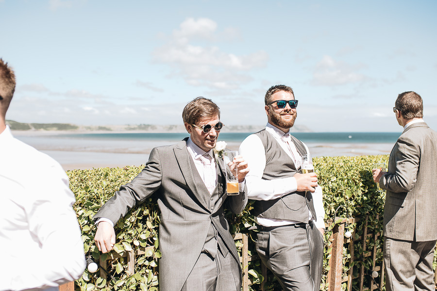 The Reception - Oxwich Bay Hotel Wedding - Swansea and South Wales Wedding Photographer - Our Beautiful Adventure Photography