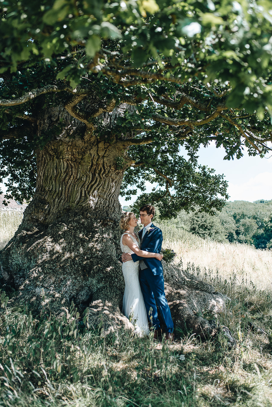 Wedding Photography - Folly Farm Centre Bristol - Our Beautiful Adventure Photography - The Couple's Portraits