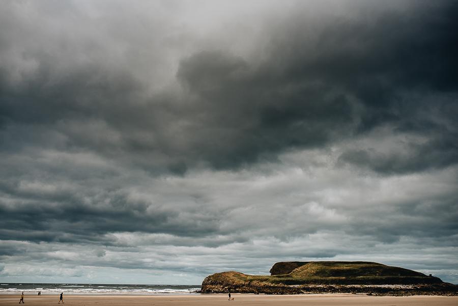 Burry Holms tidal island.