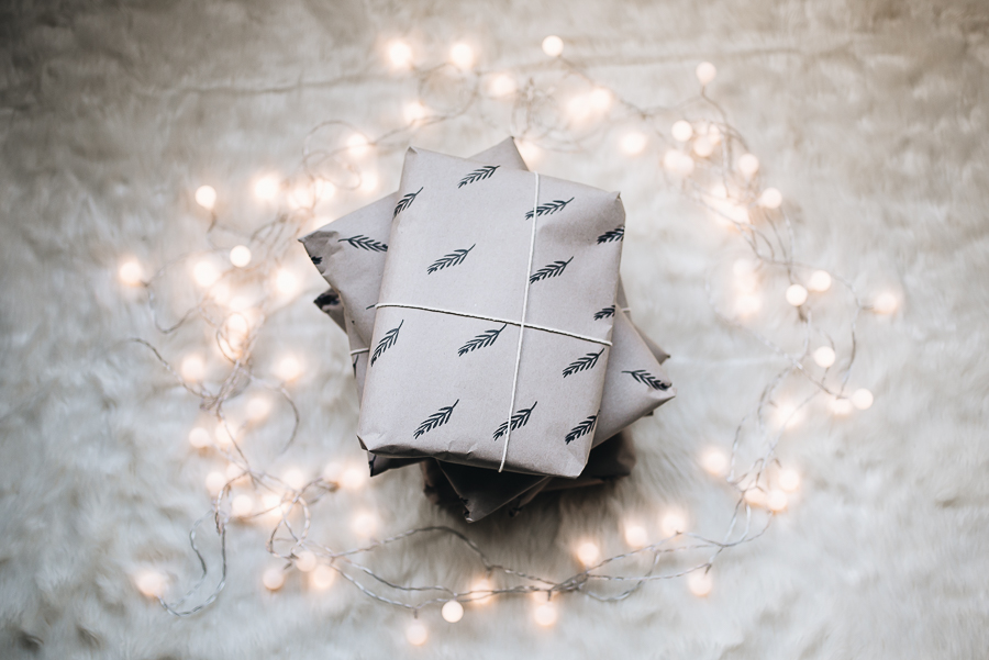 A more mindful advent - Recyclable wrapping paper