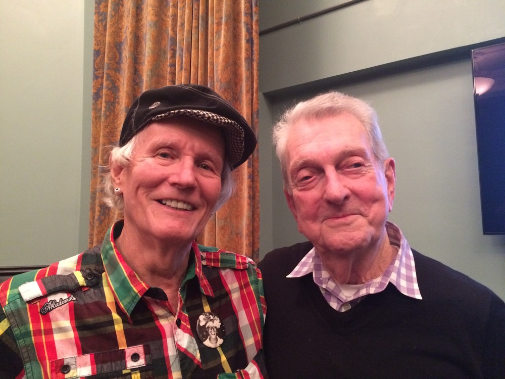 Human rights pioneers Randy Wicker and Dick Leitsch, April 12, 2016.