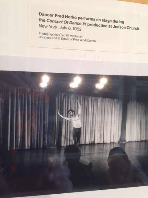 Fred W. McDarrah photographed the first time that musician Cecil Taylor - now the subject of a career retrospective and series of performances at the Whitney Museum - collaborated with another medium, in this case dance.  The picture is on display now at the museum as part of the historic exhibition.