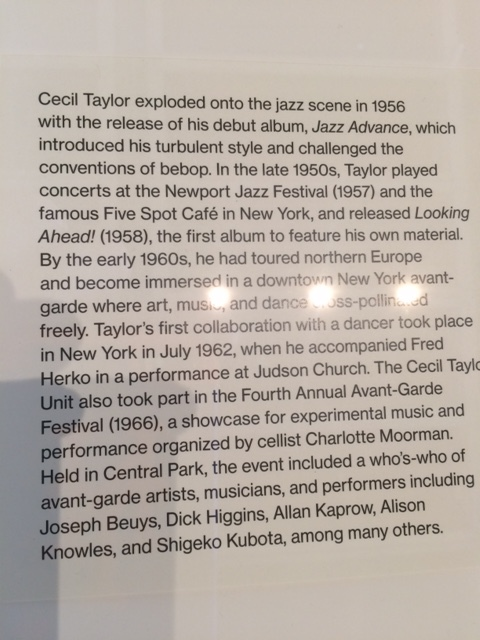 Whitney caption information. McDarrah of course photographed all the Avant Garde festivals too.