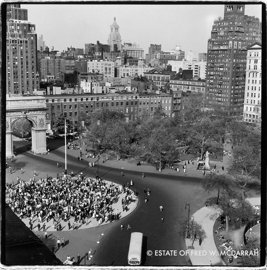 Washington Square Park, May 1959