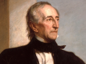 John Tyler, America's 10th president, was married on Greenwich Village.