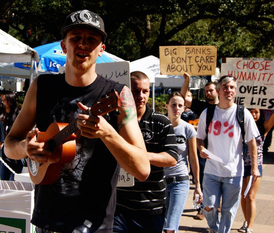 The dude with the ukulele shouted, GÇ£ItGÇÖs not a dem.jpg
