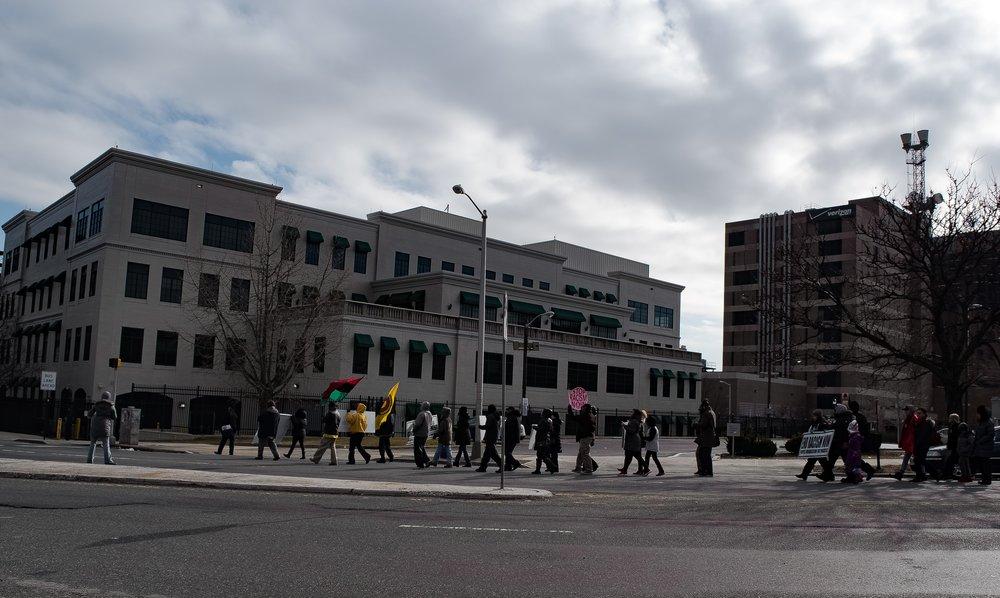 Newark Protest, 2018, Michael Raqim Mira, Photojournalism