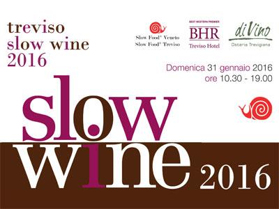 Slow Wine Treviso -31 gennaio 2016