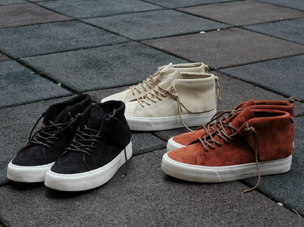 a7c4bd4a997 Vans CA Scotchgard Moccasin FW2015 - First Look — strictly waffles.