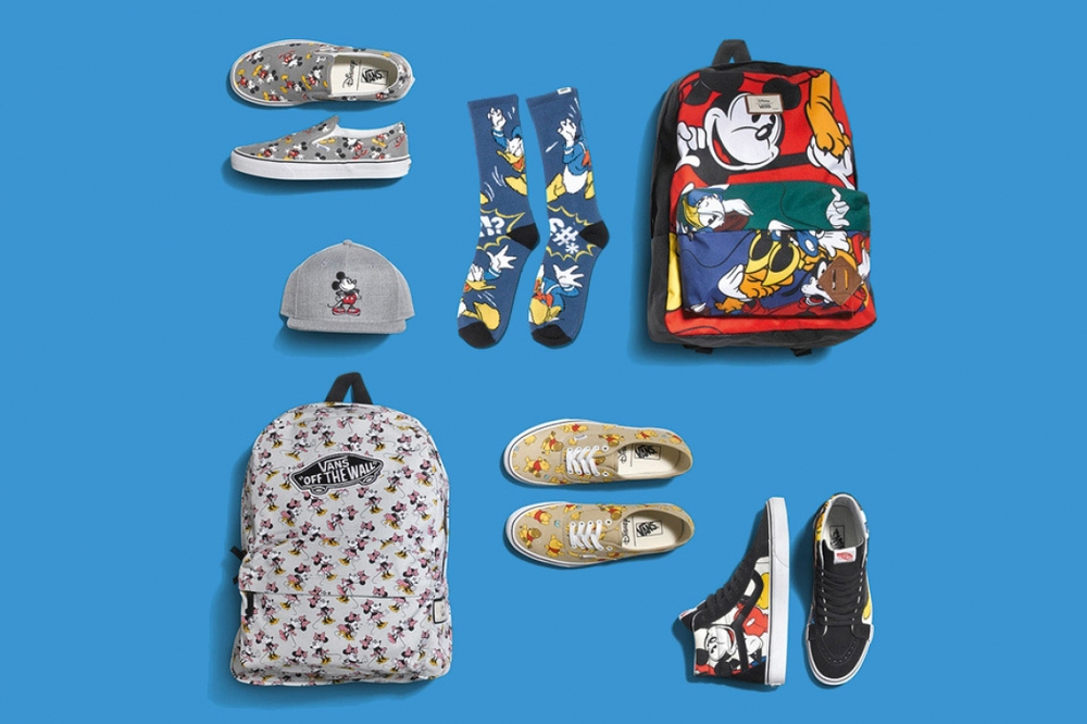 "Disney x Vans Classics ""Young at Heart"" Collection"
