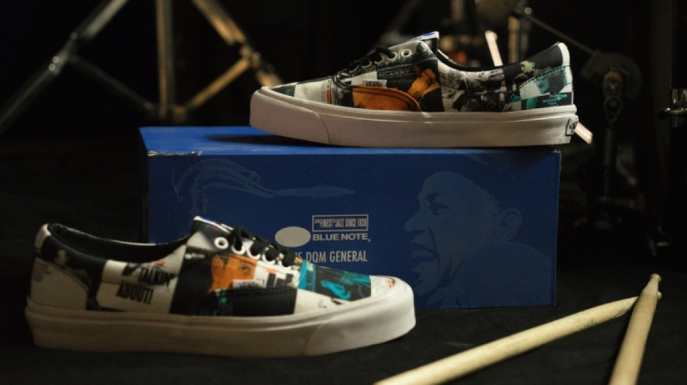 Blue Note Records x DQM x Vans