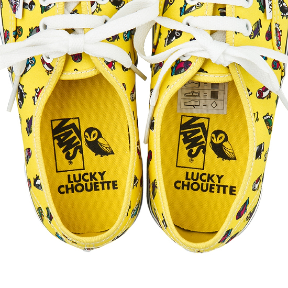 Lucky Chouette X Vans Collection