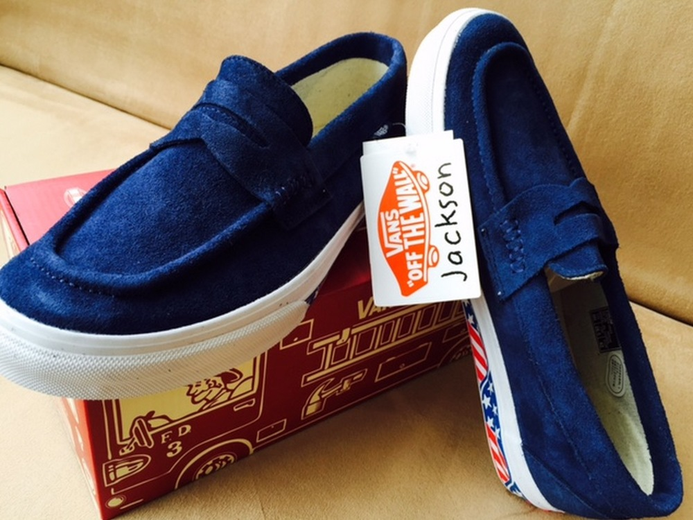 JACKSON MATISSE x Vans Japan Penny Loafer Collection