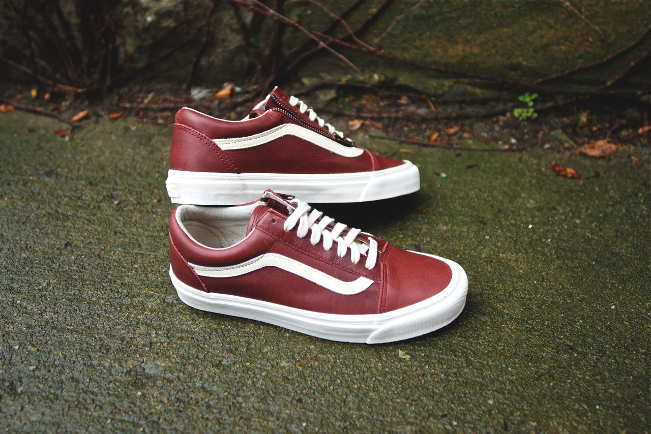 48371e403ef0 Vans Vault Old Skool Zip LX