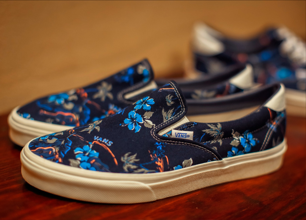 "BILLY'S x Vans Japan ""Kyoto"" Slip On and Era"