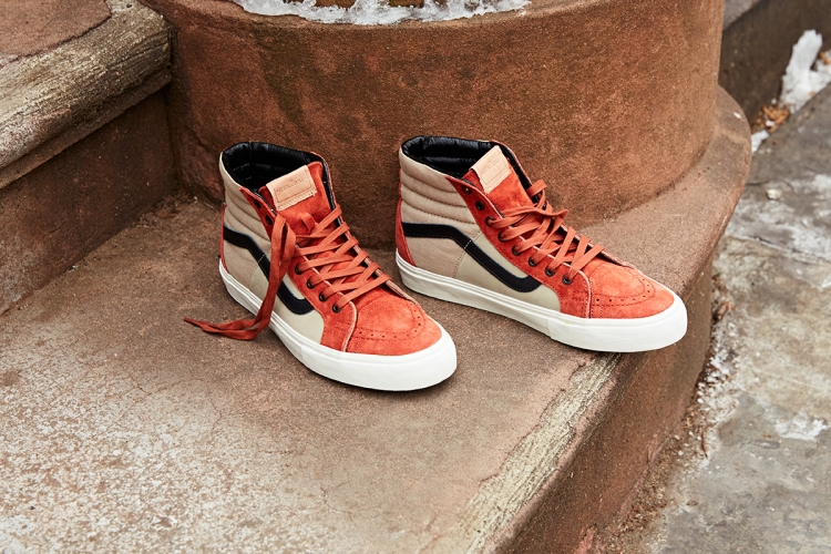 "DQM x Vans ""Brownstones"" Sk8 Hi and Old Skool LX"