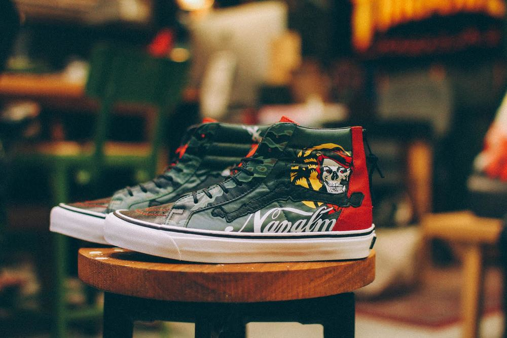 "Mr. SBTG ""Enjoy Napalm"" Sk8 Hi Zip LX"