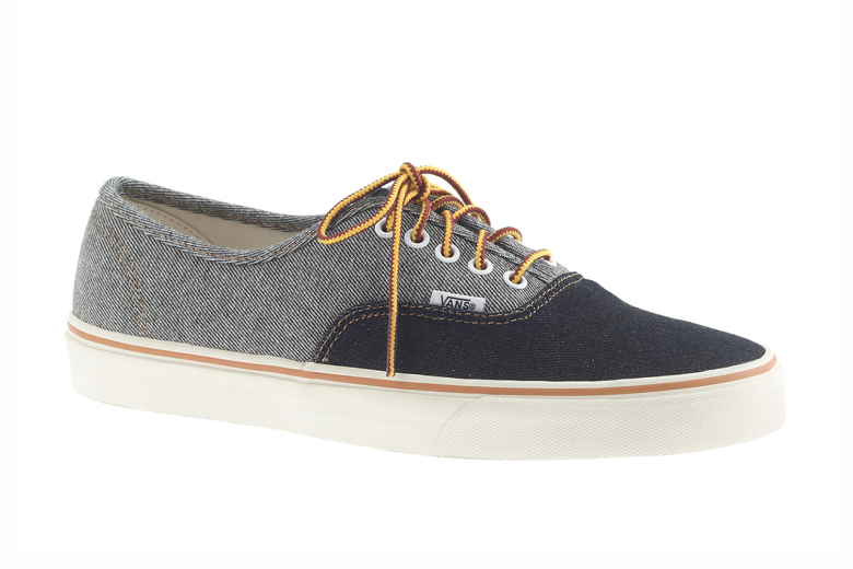 J. Crew for Vans Two-Tone Denim Pack