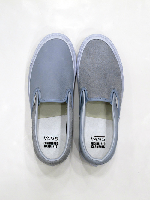 "Engineered Garments x Vans Vault Slip On OG Classic LX ""Light Blue"""