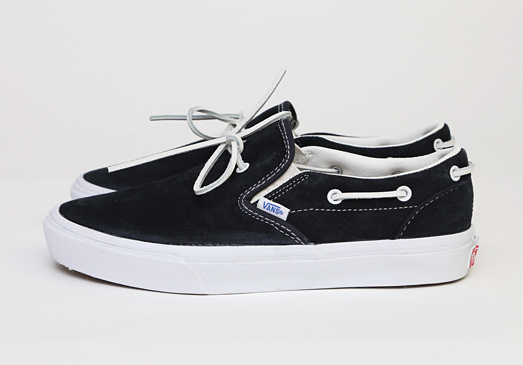 Vans Lacey 72 (Suede) Leather Lace/ Black